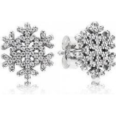 Snowflake Stud Earrings 290589CZ
