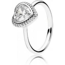 Sparkling Heart Ring 190929CZ