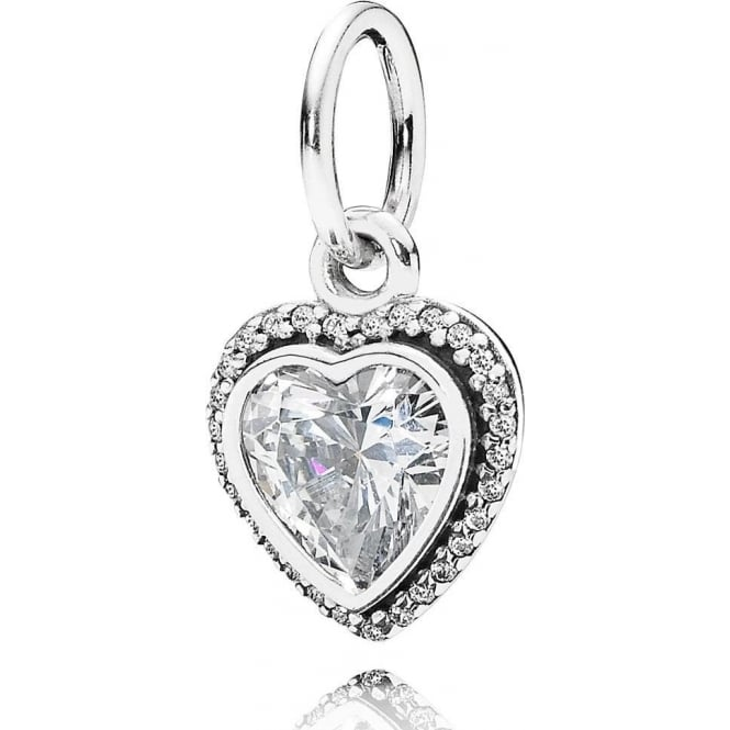 pandora sparkling love pendant charm 390366cz pandora. Black Bedroom Furniture Sets. Home Design Ideas