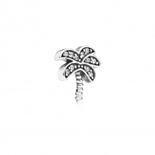 Sparkling Palm Tree Petite Locket Charm 792182CZ