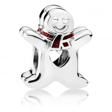Sweet Gingerbread Man Charm 792002EN07