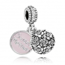 Sweet Mother Pendant Charm 791285CZ