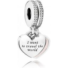 Travel Together Pendant Charm 791717CZ