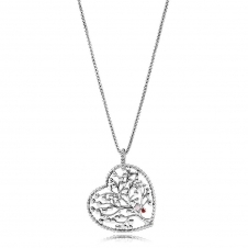 Tree of Love Necklace 396582ENMX-75