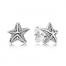 Tropical Starfish Stud Earrings 290748CZ