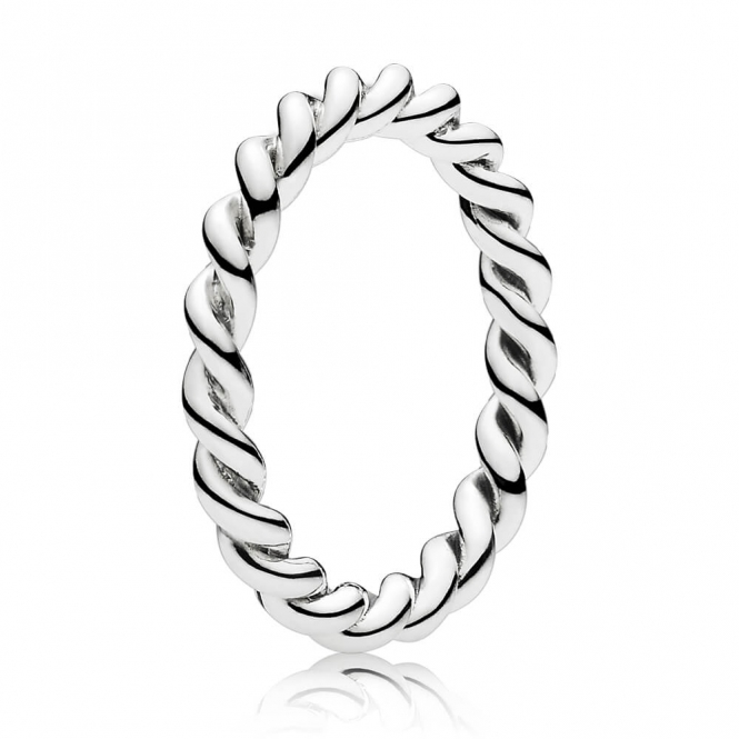 PANDORA Twisted Stacking Ring 190602
