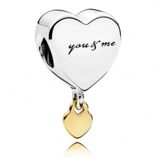Two Hearts Charm 796558