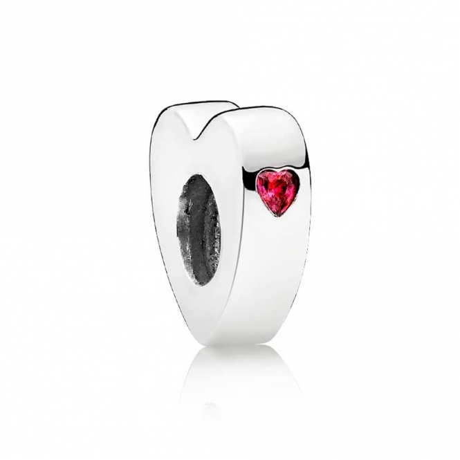 PANDORA Two Hearts Spacer 796559CZR