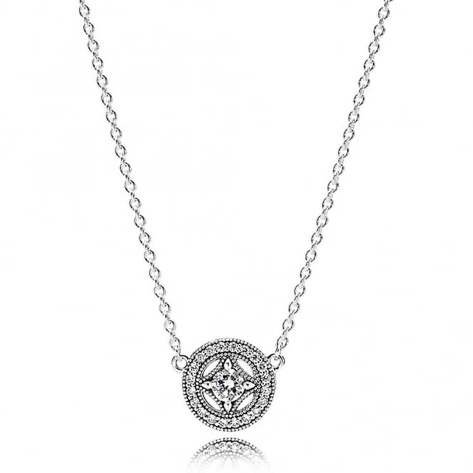 PANDORA Vintage Allure Necklace 590523CZ-45