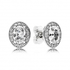 Vintage Elegance Stud Earrings 296247CZ